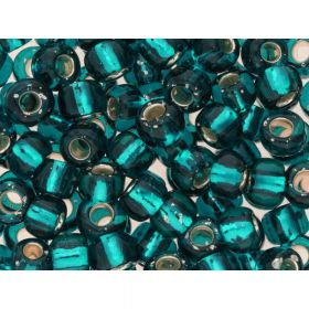 TOHO™ / Round 3/0 / Silver-Lined / Teal / 10g / ~ 60pcs