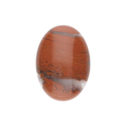 Red jasper / cabochon / oval / 18x25x7mm / 1pcs