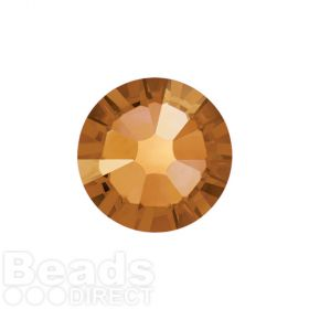 2088 Swarovski Crystal Flat Backs Non HF 4mm SS16 Crystal Copper F Pk1440