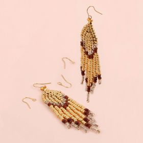 Free Gift Shine Online September 2018 - Gold Beaded Earrings