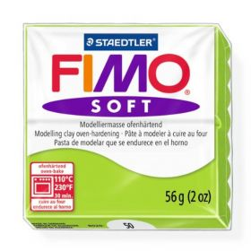 Staedtler Fimo Soft Polymer Clay Apple Green 56g (1.97oz)