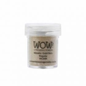 Wow Embossing Powder 15ml Jar Metallic Gold Rich