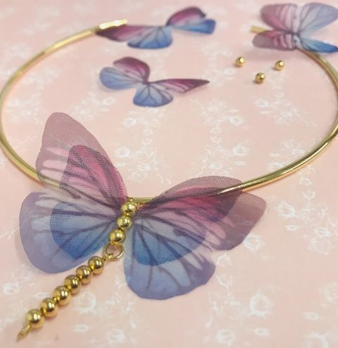 HOW TO MAKE A BUTTERFLY CHOKER – JEWELLERY MAKING FOR BEGINNERS
