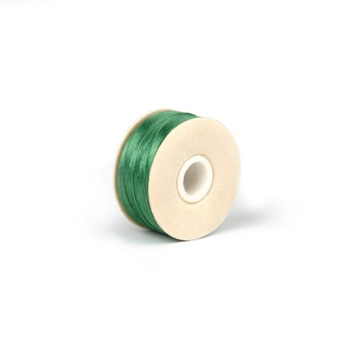 Nymo Beading Thread Size D 0.3mm Emerald 64yards