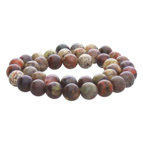 Ocean jasper / round / 4mm / multicolour / 62pcs