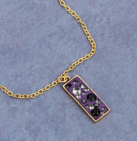 Shining Lilac Ceralun Necklace