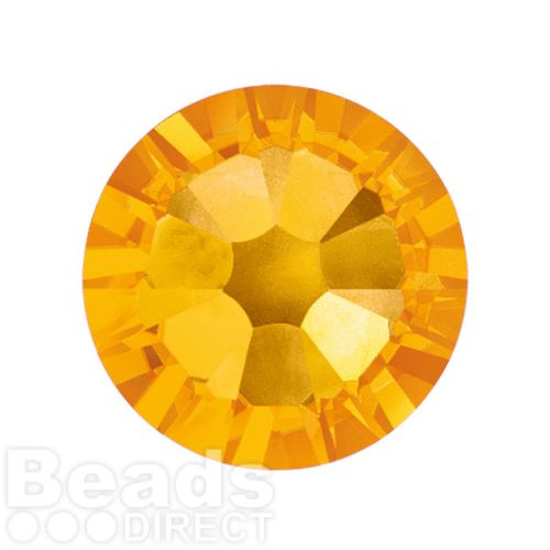 2088 Swarovski Crystal Flat Backs Non HF 7mm SS34 Sunflower F Pk144