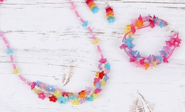 'Summer Bouquet' Jewellery Set by Natalie Edgely