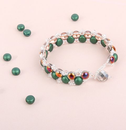 Earth Candy Bracelet | National Beading Week Projects