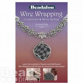 Beadalon Wire Wrapping Book - Component & Stone Setting