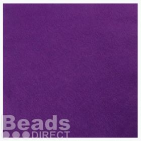 "Purple Felt Square Beading Foundation 9""x9 For Soutache Pk1"