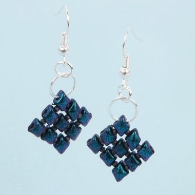 Diamond Duo Earrings