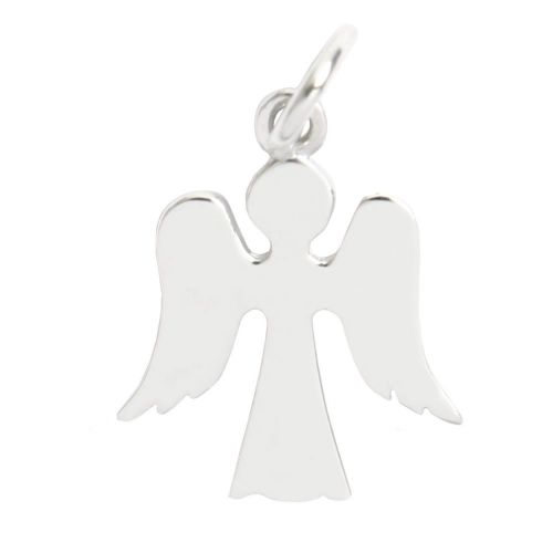 Sterling Silver 925 Guardian Angel Charm 14x18mm Pk1