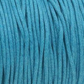 Waxed cord / blue / 2.0mm / 1m