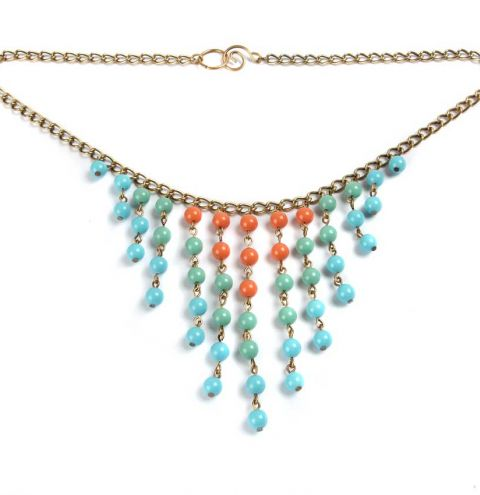Gem Pearls Necklace
