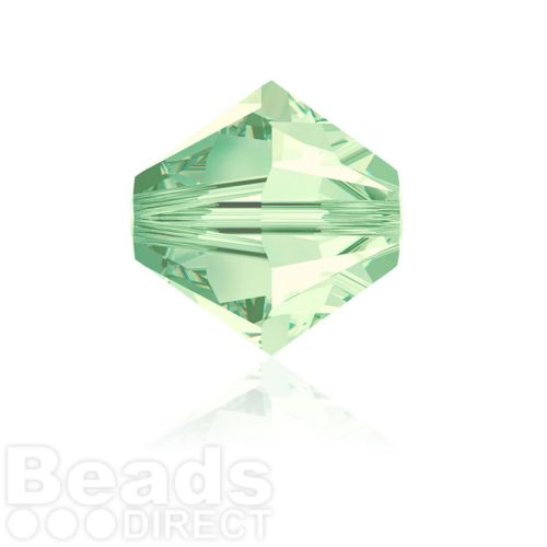 5328 Swarovski Crystal Bicones 6mm Chrysolite Pk360