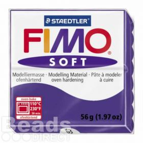 Staedtler Fimo Soft Polymer Clay Plum 56g (1.97oz)