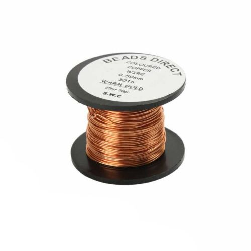X Craft Wire Warm Gold 0.5mm 25m Reel