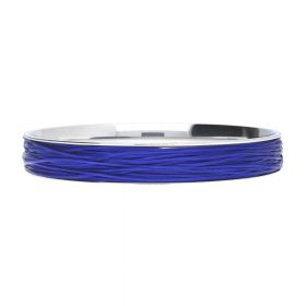 Elastoma / jewellery elastic / 0.5x0.8mm / cobalt / 5m