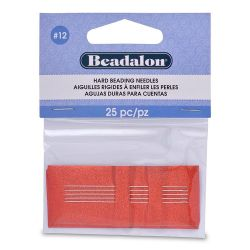 Beadalon Size 12 Beading Needles Pk25