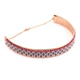 Beads Direct Pink Rosie Glow Seed Bead Choker Necklace Kit - Makes x1