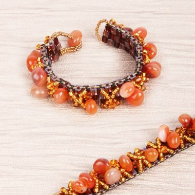 Autumn Maple Bracelet