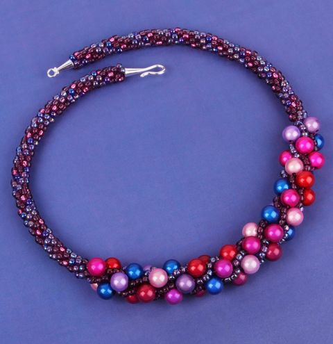 Violet Miracle Necklace