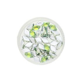 GEMDUO™ / 8x5mm / Backlit / Seafoam / 5g / ~35pcs