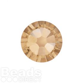2088 Swarovski Crystal Flat Backs Non HF 4mm SS16 Crystal Golden Shadow F Pk1440