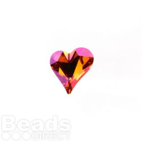 4809 Swarovski Crystal Sweet Heart Stone 12x13mm Crystal Astral Pink F Pk1