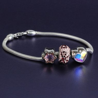 Spring BeCharmed Bracelet made with Swarovski