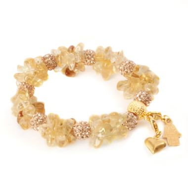 Cherish Bracelet Golden Citrine
