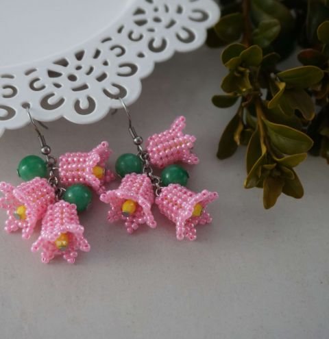 How to make beaded flowers! TOHO beaded flowers tutorial