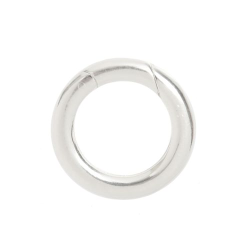 X- Sterling Silver 925 Large Lever Ring Clasp 19mm Pk1
