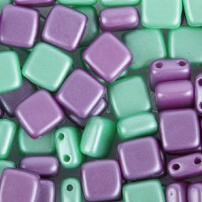 Square tile Beads
