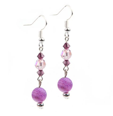 'Lilac Dreams' Earrings