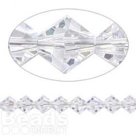 5328 Swarovski Crystal Bicones Xillion 6mm Moonlight Pk24