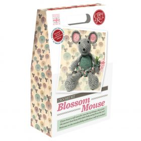 The Crafty Kit Company Blossom Mouse Crochet Kit