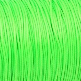Coated twine / 1.0mm / lime / 1m