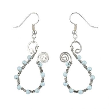 Bliss Blue Earrings