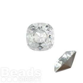 4470 Swarovski Crystal Square Fancy Stone 12mm Crystal F Pk1