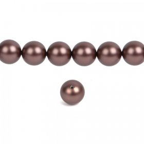 5810 Swarovski Crystal Pearls 8mm Crystal Velvet Brown Pk25