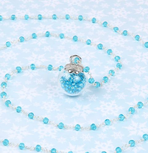 Crystal Ice Pendant Necklace