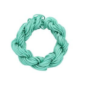 Mcord ™ / Macrame cord / nylon / 1.5mm / light turquoise / 13m