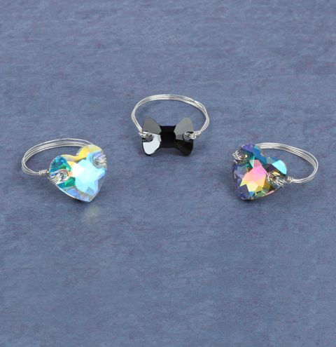 Shimmer Ring Collection
