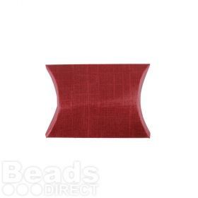 Bordeaux Small Pillow Gift Box 70x70x25mm Pk1