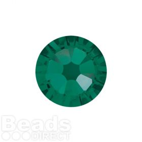 2088 Swarovski Crystal Flat Backs Non HF 4mm SS16 Emerald F Pk1440