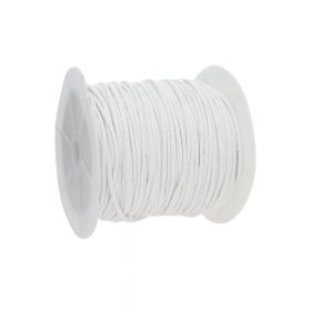 Waxed cord / white / 2.0mm / 72m