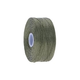 BEADSMITH ™ / thread S-LON D / nylon / Tex 45 / Avocado / 70m