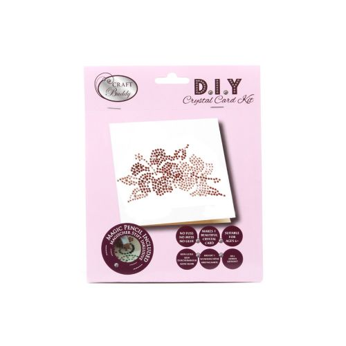 Beads Direct Double Flower Crystal Card Kit